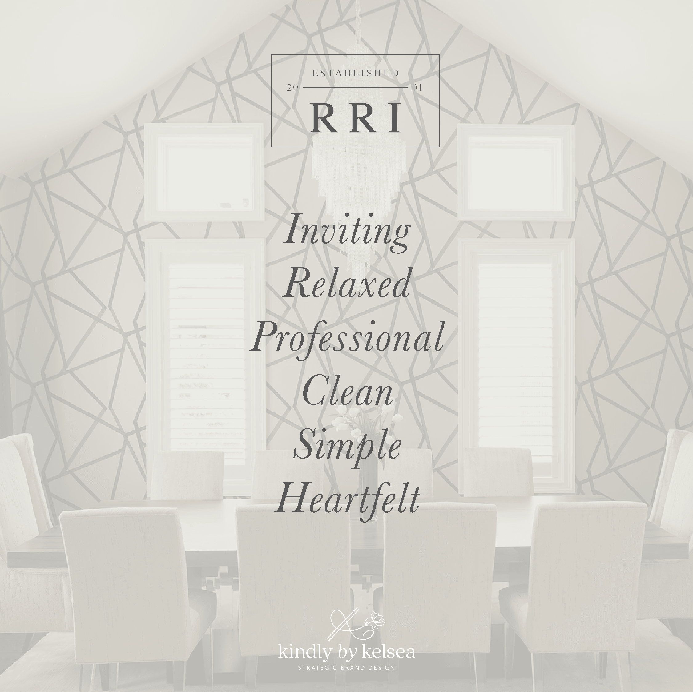 Rainey Richardson Interiors Houston Interior Designer | Logo and Brand Design by Kindly by Kelsea