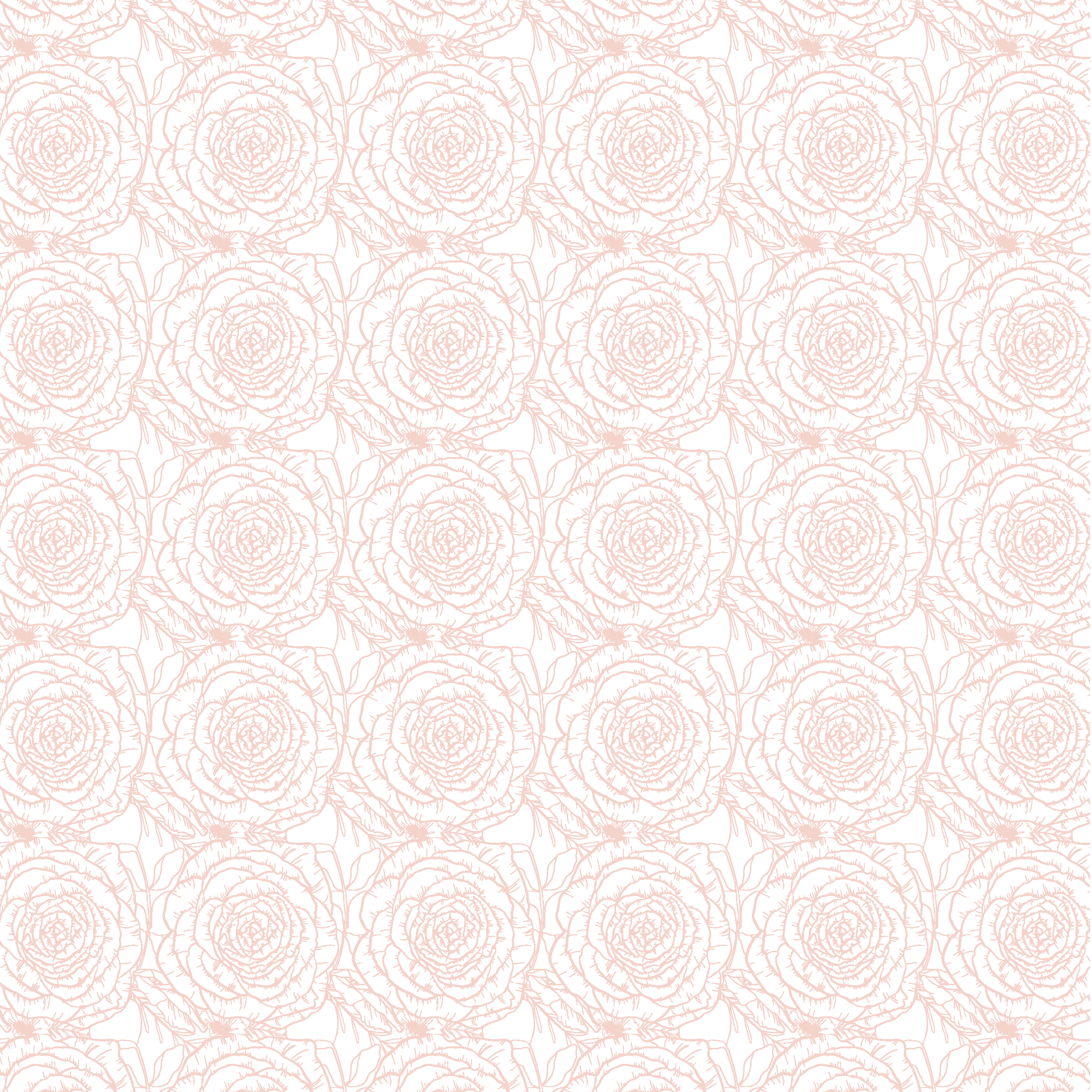 Bubbles and Blooms Katy Texas Florist pattern and logo design by Kindly by Kelsea
