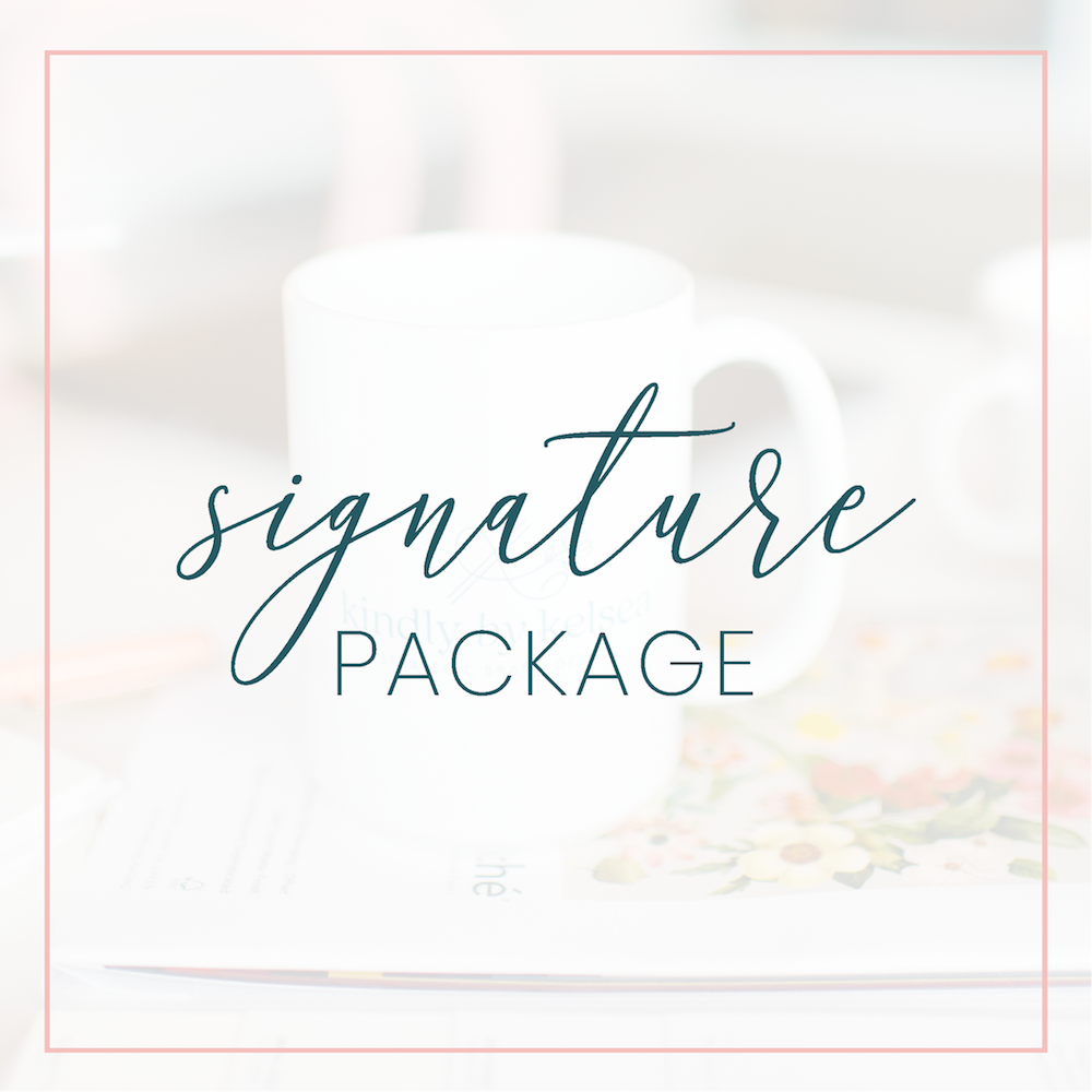 Kindly by Kelsea Signature Brand Package