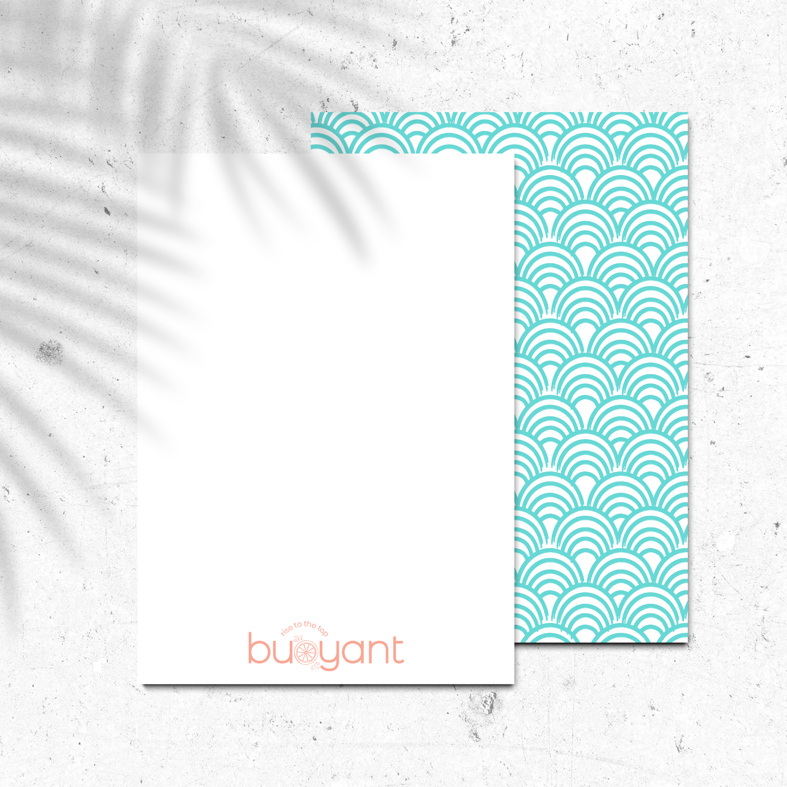 Buoyant Marketing Inbound Marketing Agency Florida Brand and Stationery Design by Kindly by Kelsea