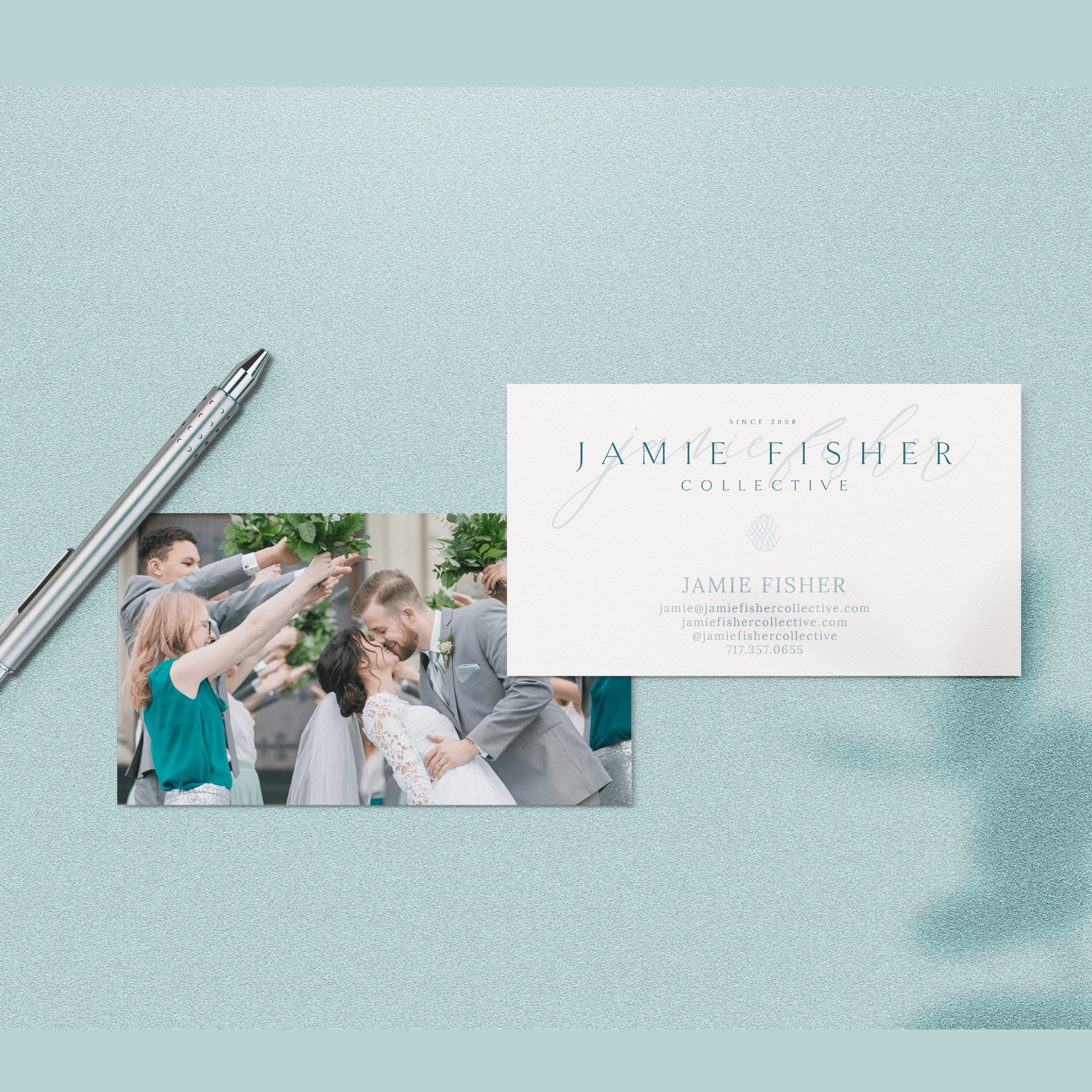 Jamie Fisher Collective Fairfield Pennsylvania Wedding Family Newborn Photography Brand and Logo Design by Kindly by Kelsea