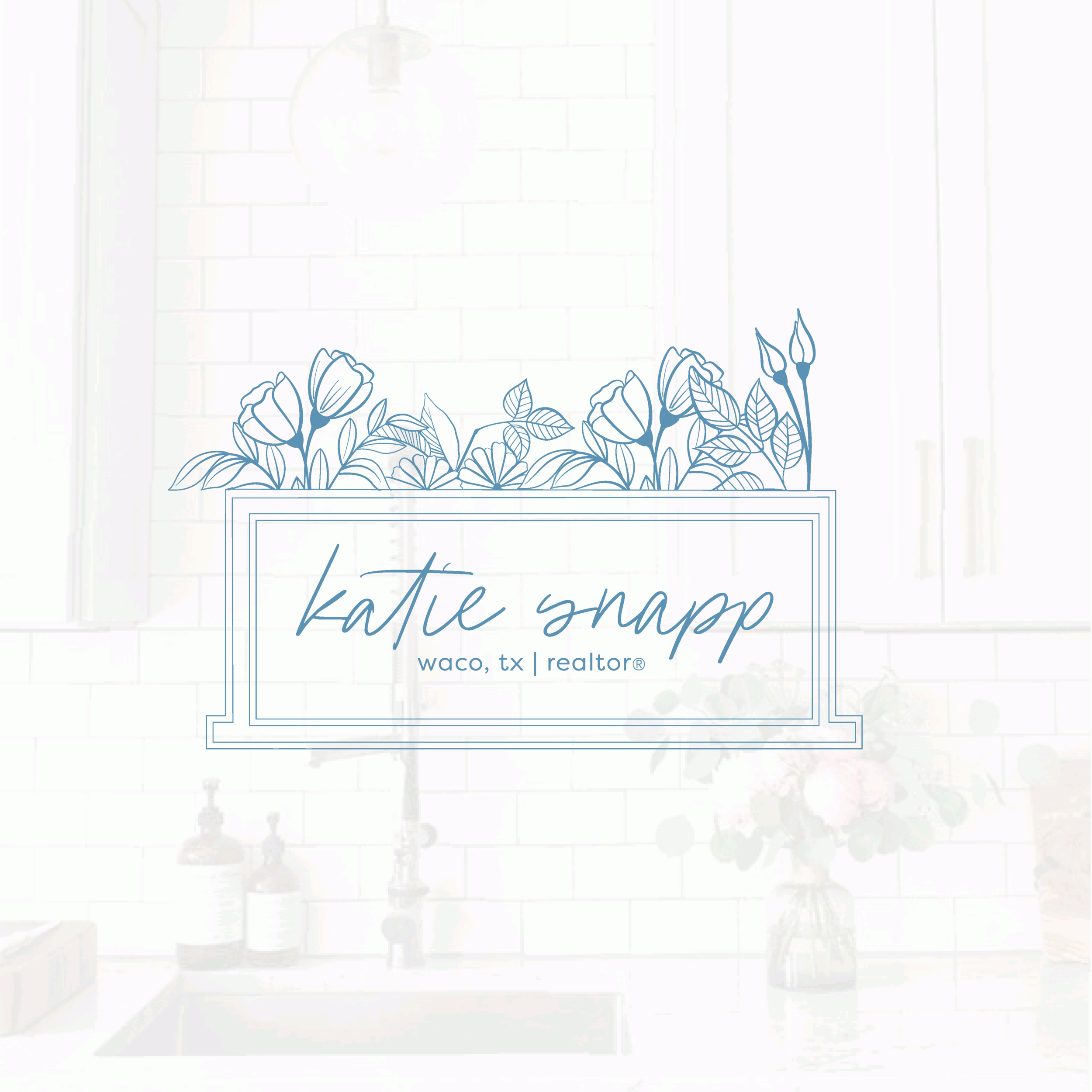 Katie Snapp Waco Camille Johnson Realtor Blogger Brand and Logo Design by Kindly by Kelsea