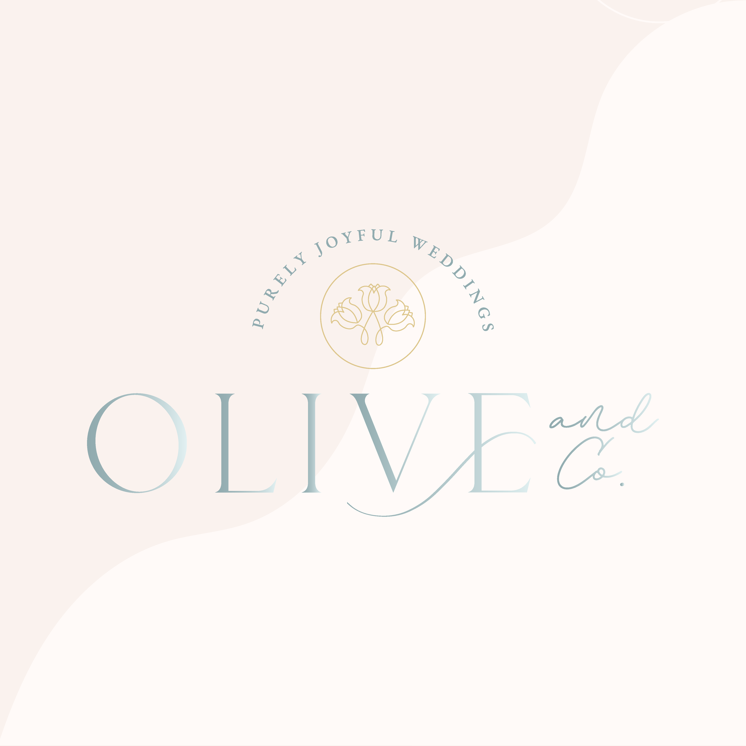 Olive and Co Maine Wedding Planner Brand Design by Kindly by Kelsea