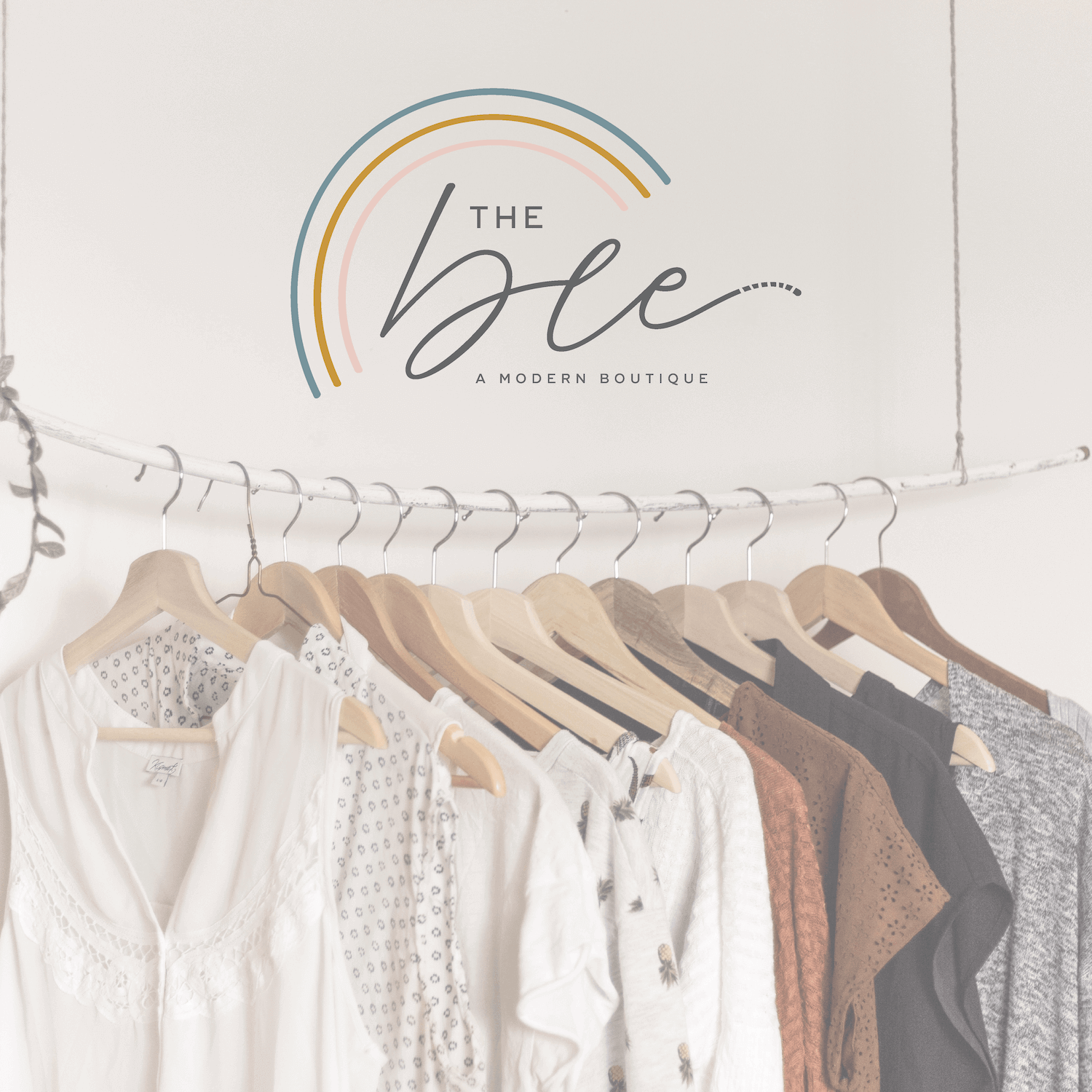 The Bee Boutique Houston Blogger the Britt Kit Brand and Logo Design by Kindly by Kelsea