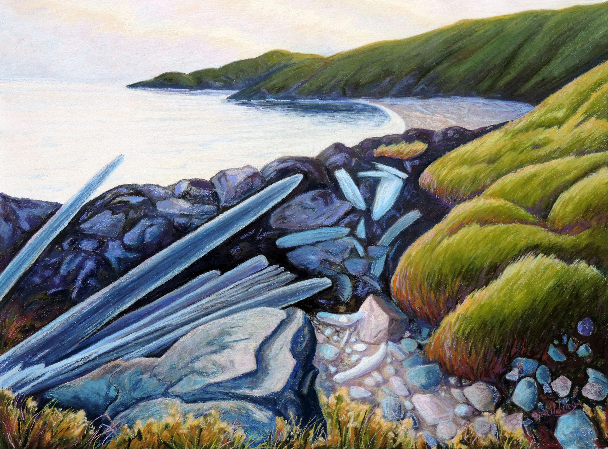 "Spring Cove   Pastel  20"" x 28"""