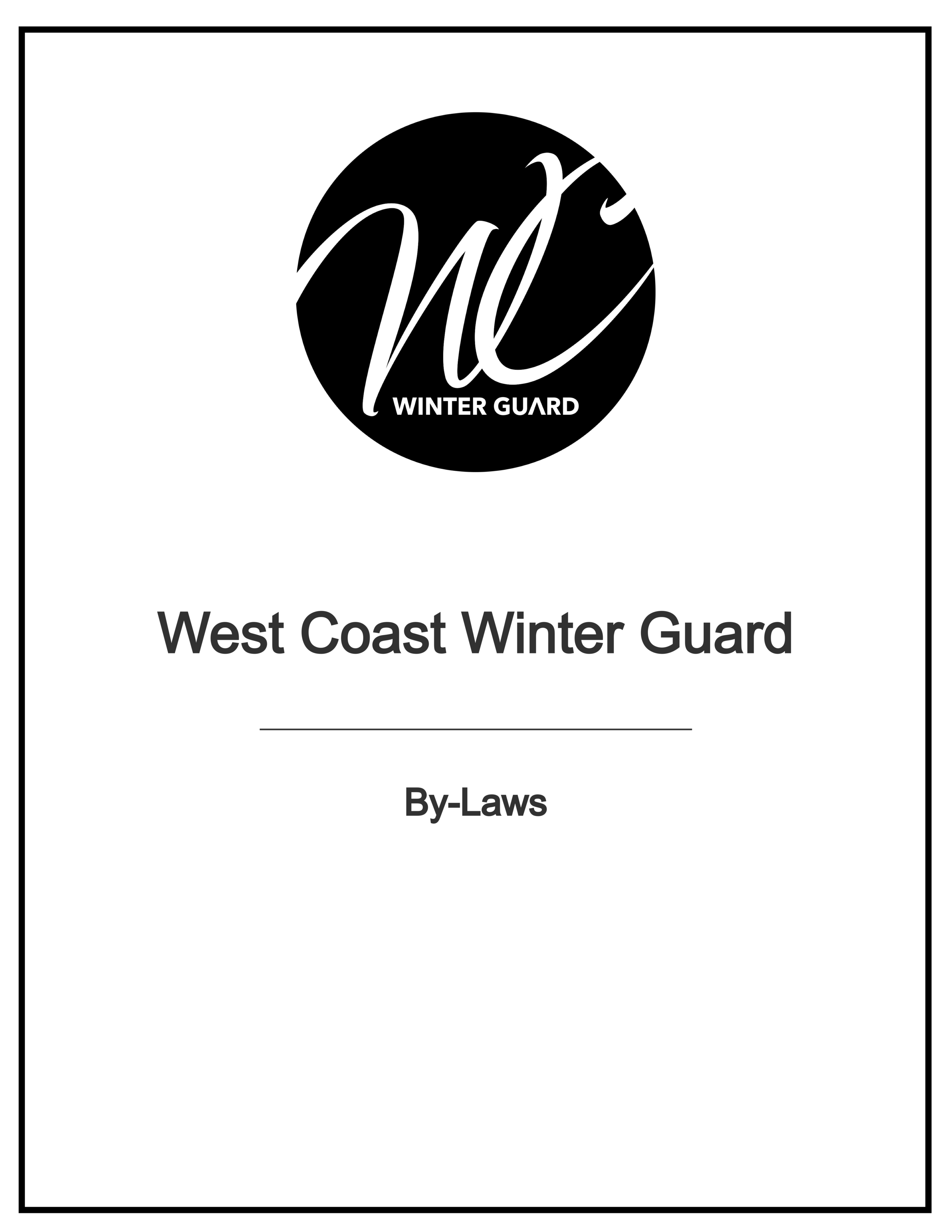 WCWG By-Laws -