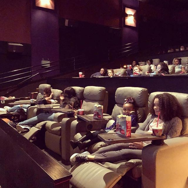 Since our own Sister Leslie was the esteemed photographer for her #awitchallengeclt event, here is a shot with some of her young guests enjoying @wrinkleintime! #awitchallenge