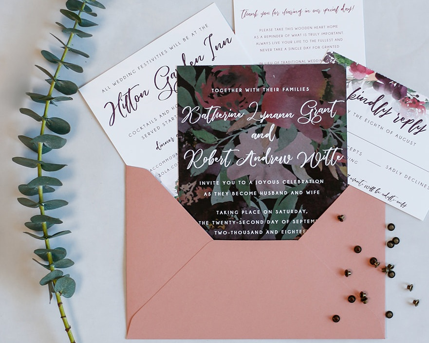 3-Piece Vellum Dynamic Invitation Suite