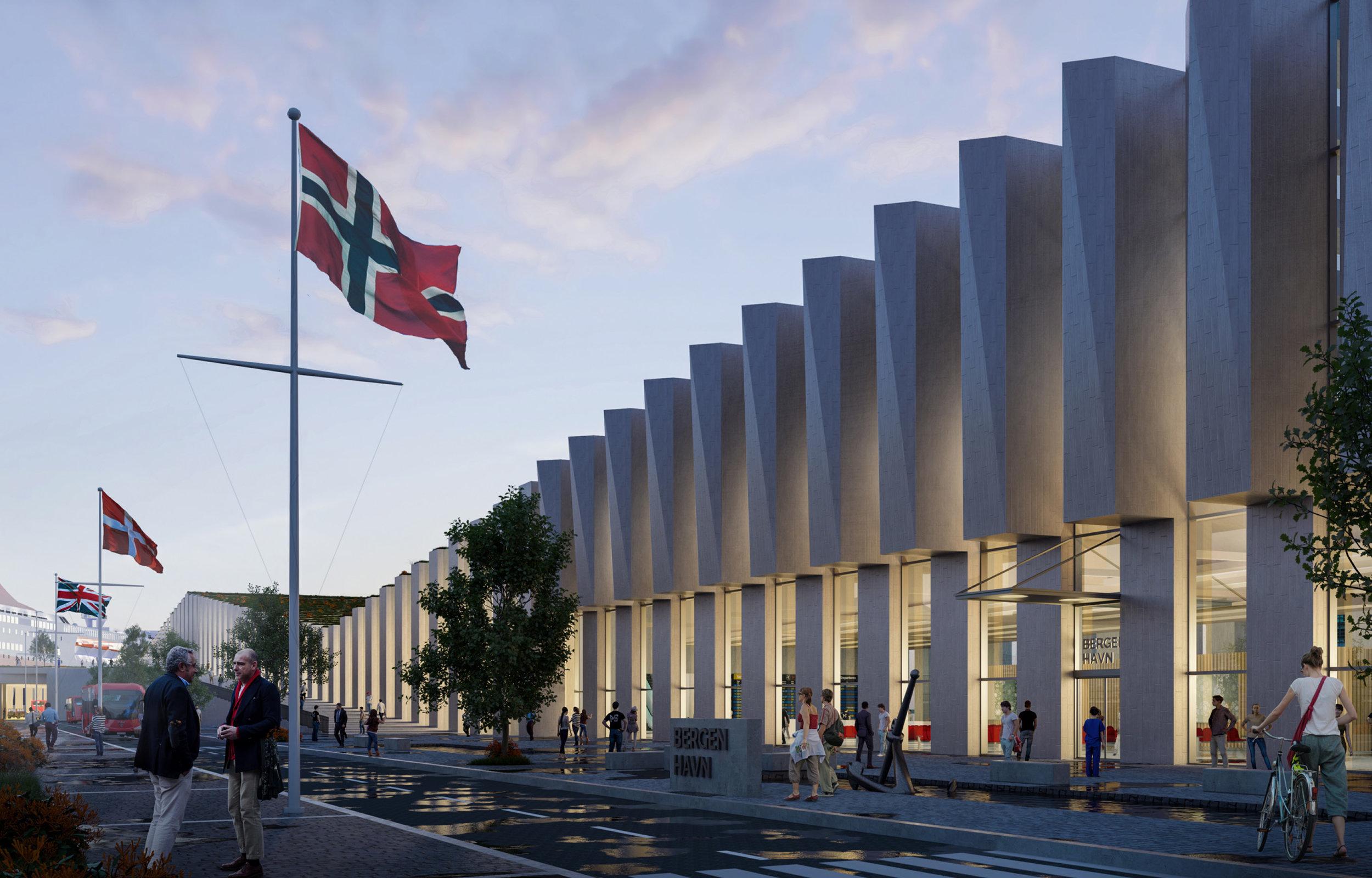 Nytt terminalbygg i Jekteviken