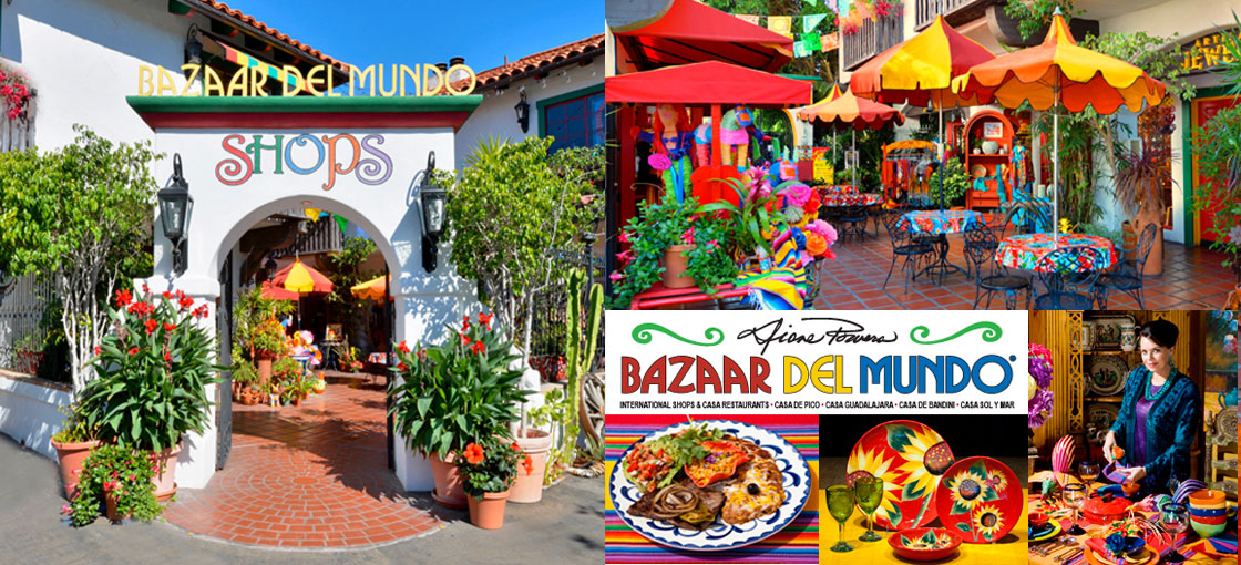 Old Town San Diego Map Restaurant Guide