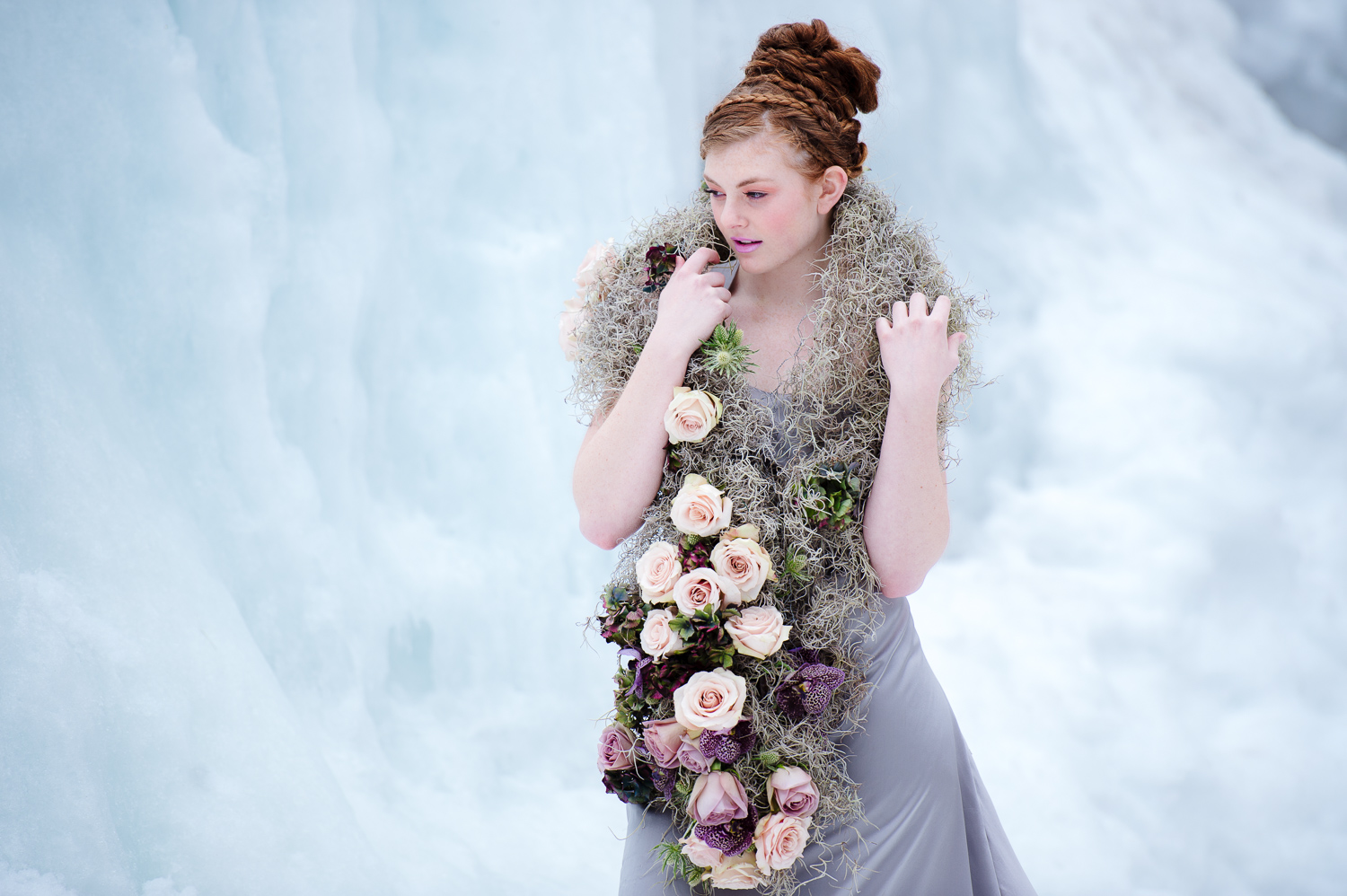 Orly Khon Winter Floral Photoshoot