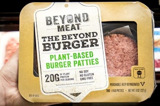 Beyond Meat files for $100M IPO.  New Crop portfolio company   Beyond Meat has filed to go public with the ticket symbol BYND. The maker of plant-based hamburgers, sausages and chicken said in the filing that it is aiming to raise $100 million, but that figure is most likely to change as the IPO nears.   Read More
