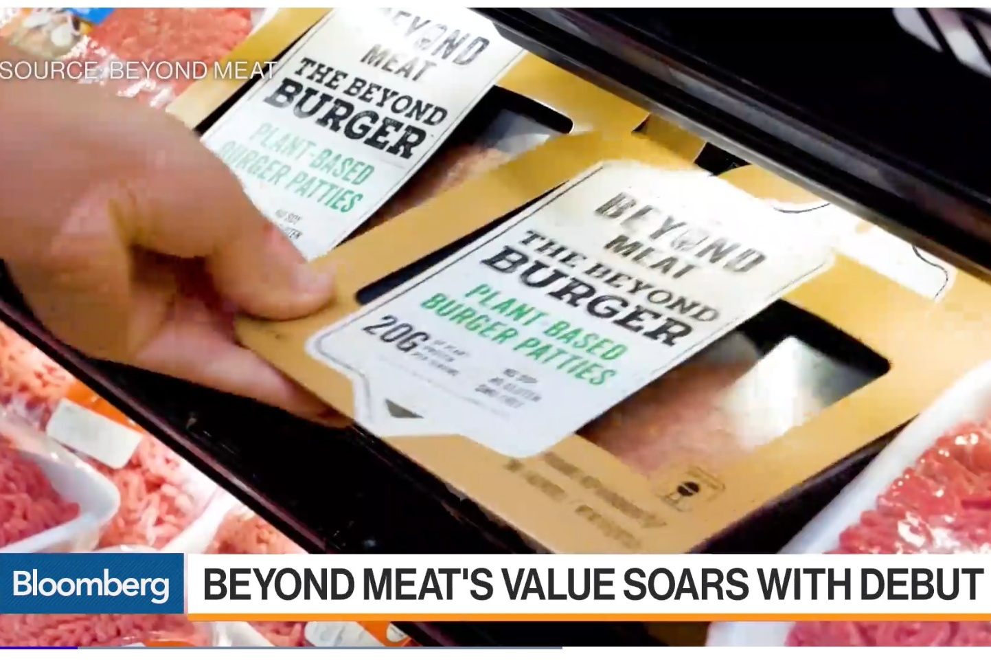 Beyond Meat Makes History With the Biggest IPO Pop Since 2008 Crisis.  Portfolio company Beyond Meat went where no company had gone in more than a decade as shares nearly tripled in their first day of trading. Founder Ethan Brown sits down with Bloomberg to explain the exciting future for this portfolio company.   Watch the Interview