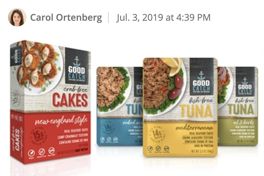 Good Catch closes convertible note to build out Factory.  Gathered Foods, producers of Good Catch plant-based seafood products, is hoping to avoid the operational bottlenecks that have plagued (and slowed the growth of) other plant-based food companies.   Read more about how Good Catch is staying ahead of the curve here.