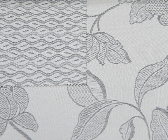 "GLAMOUR SILVER 60%COTTON/40% POLY  108"" WIDE WASHABLE  MADE IN ITALY  TABLECLOTH,BED COVER, CURTAIN ,UPHOLSTERY"