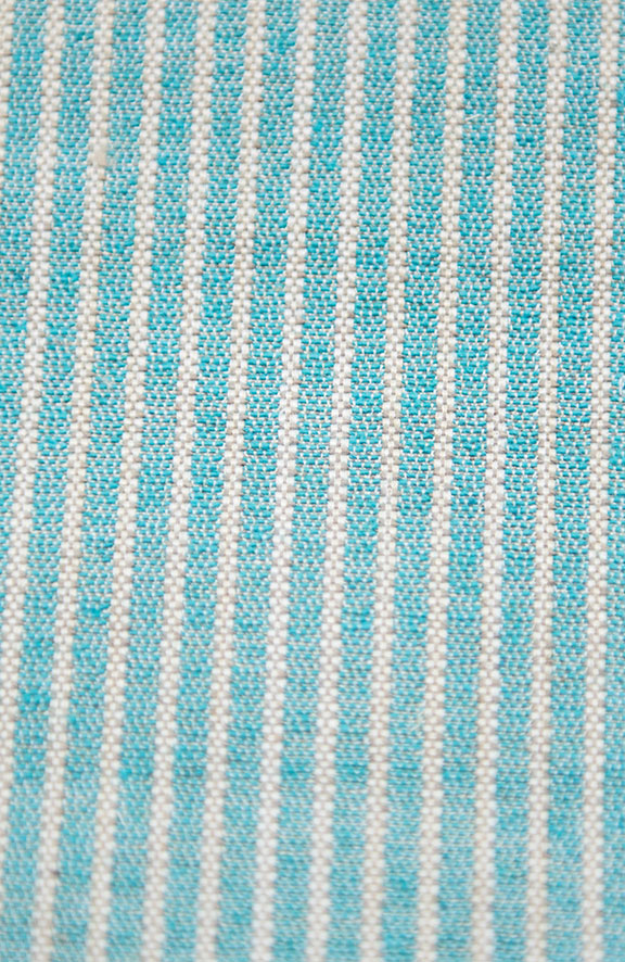 "MANU 15A TURQ   65%COTTON/35%POLY  UPHOLSTERY                 54"" WIDE           WASHABLE                                    MADE IN ITALY"