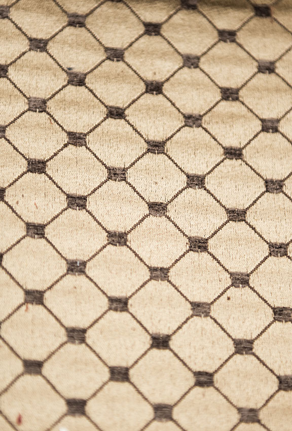 "SALICE 25/COFFEE        65%/COTTON 35%/POLY  UPHOLSTERY                          54"" WIDE                                                MADE IN ITALY"