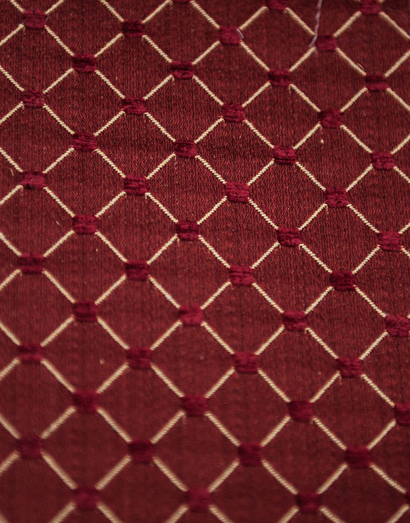 "SALICE  23/WINE       65%/COTTON 35%/POLY  UPHOLSTERY                          54"" WIDE                                                MADE IN ITALY"