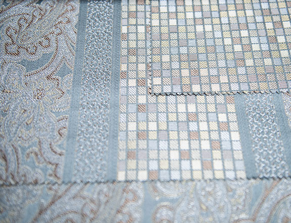 """FLORANCE BLUE    54"""" WIDE                       ITALY"""