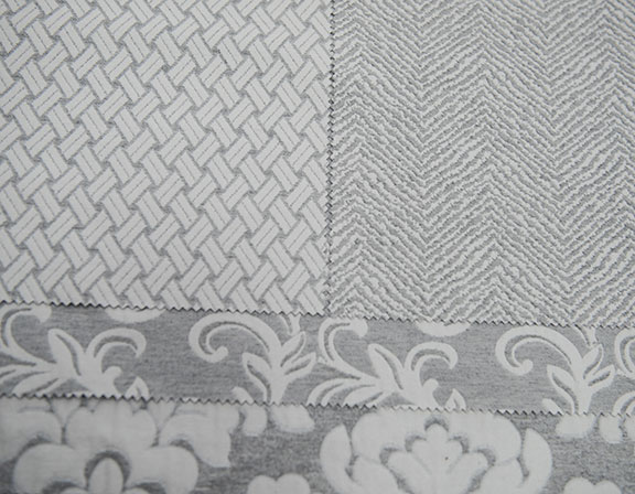 "DELAVE  GREY      55% COTTON/45% POLYESTER                                                 106"" WIDE                                                      ITALY"