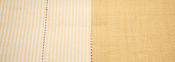 "MANU  GOLD        65% Cotton/35%Polyester                                            54"" WIDE                                       MADE IN ITALY"