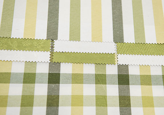 "FRESH  GREEN       60% COTTON/40% POLYESTER                                  180"" or 54"" WIDE  -WASHABLE                                    UPHOLSTERY & DRAPERY                                            MADE IN ITALY"
