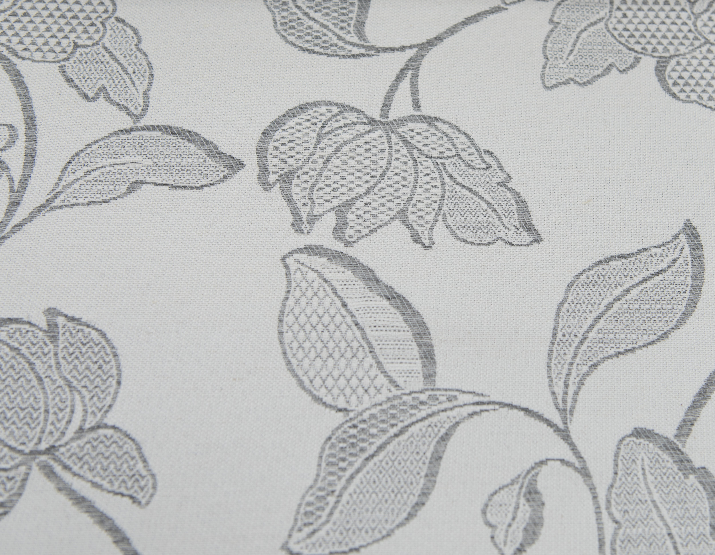 """GLAMOUR  #4/SILVER 60%COTTON/40% POLY  108"""" WIDE WASHABLE  MADE IN ITALY  TABLECLOTH,BED COVER, CURTAIN ,UPHOLSTERY"""