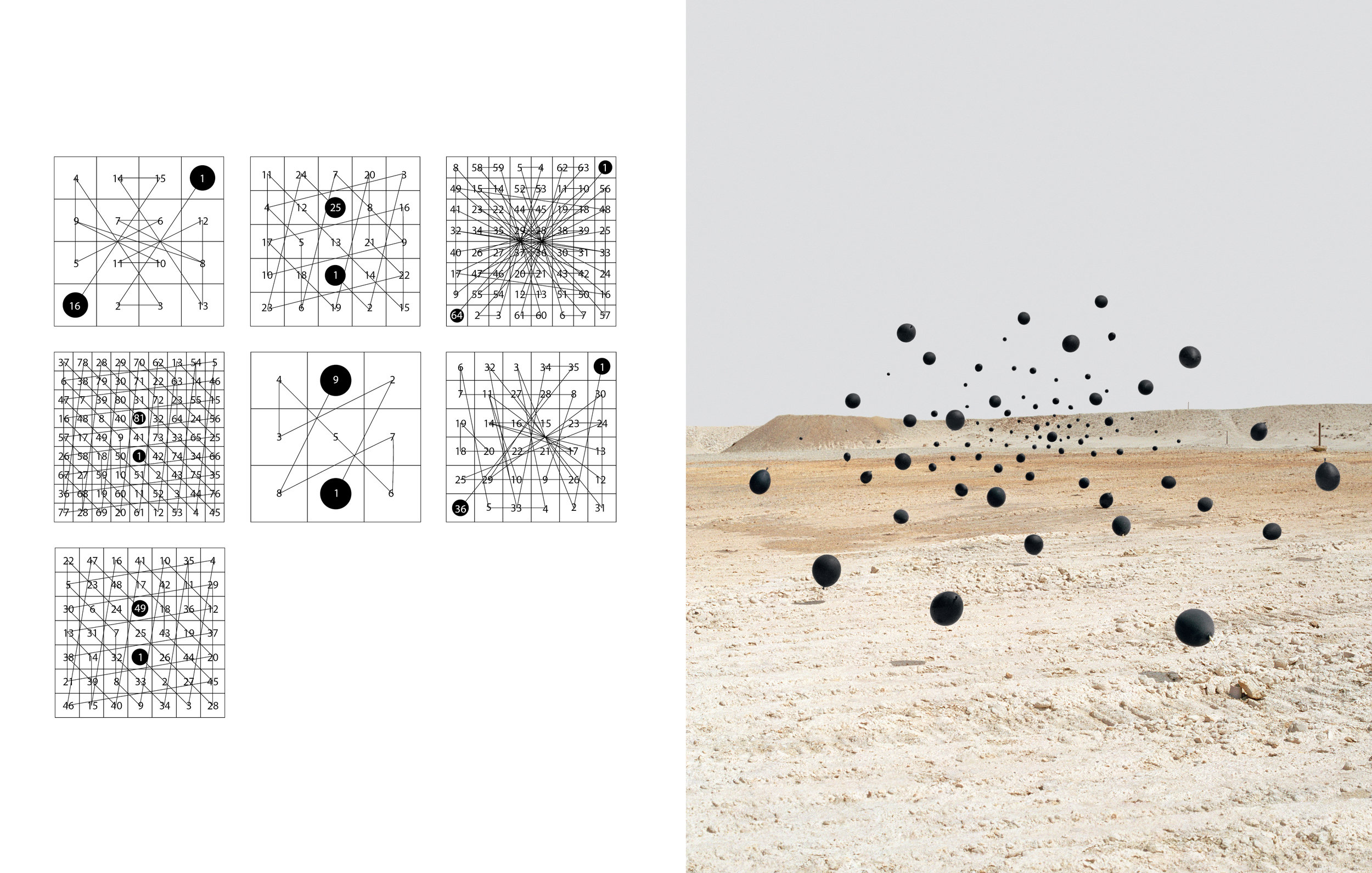 Andrea Galvani © Study on Magic Squares and Death of an Image #7.jpg