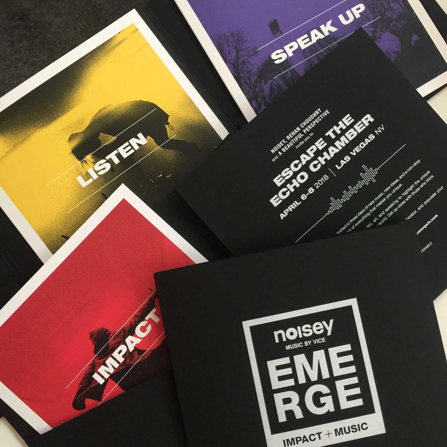 Emerge  \\ Making an impact from the start. Such an honor setting the stage for this 3-day Emerge Impact + Music celebration.