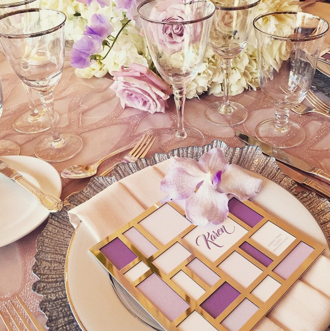 Karen  \\ A little edge + a lot of elegance.The epitome of personalized modern romance.