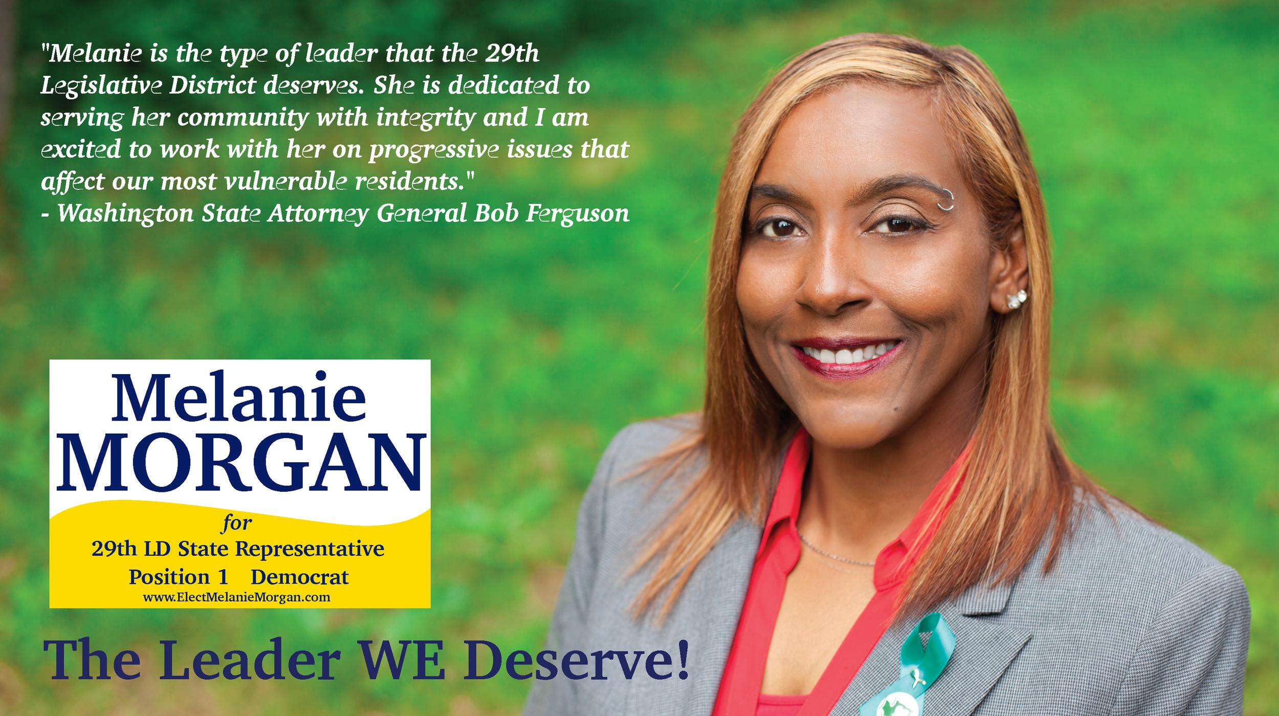 Melanie Morgan for State Representative, 29th LD