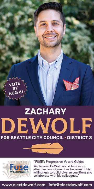 Zachary DeWolf for Seattle City Council, D3