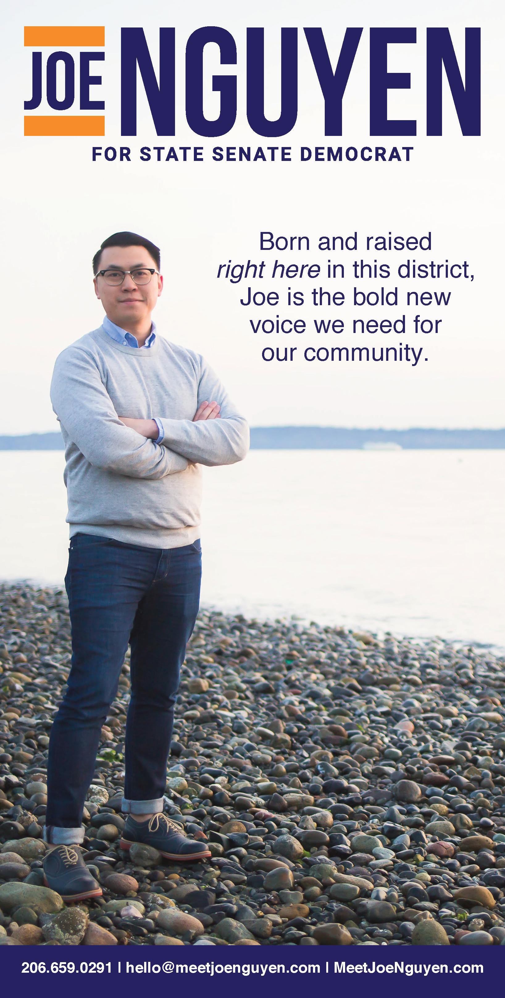 Joe Nguyen for State Senate, 34th LD