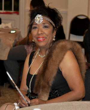 Roaring 1920's themed dress