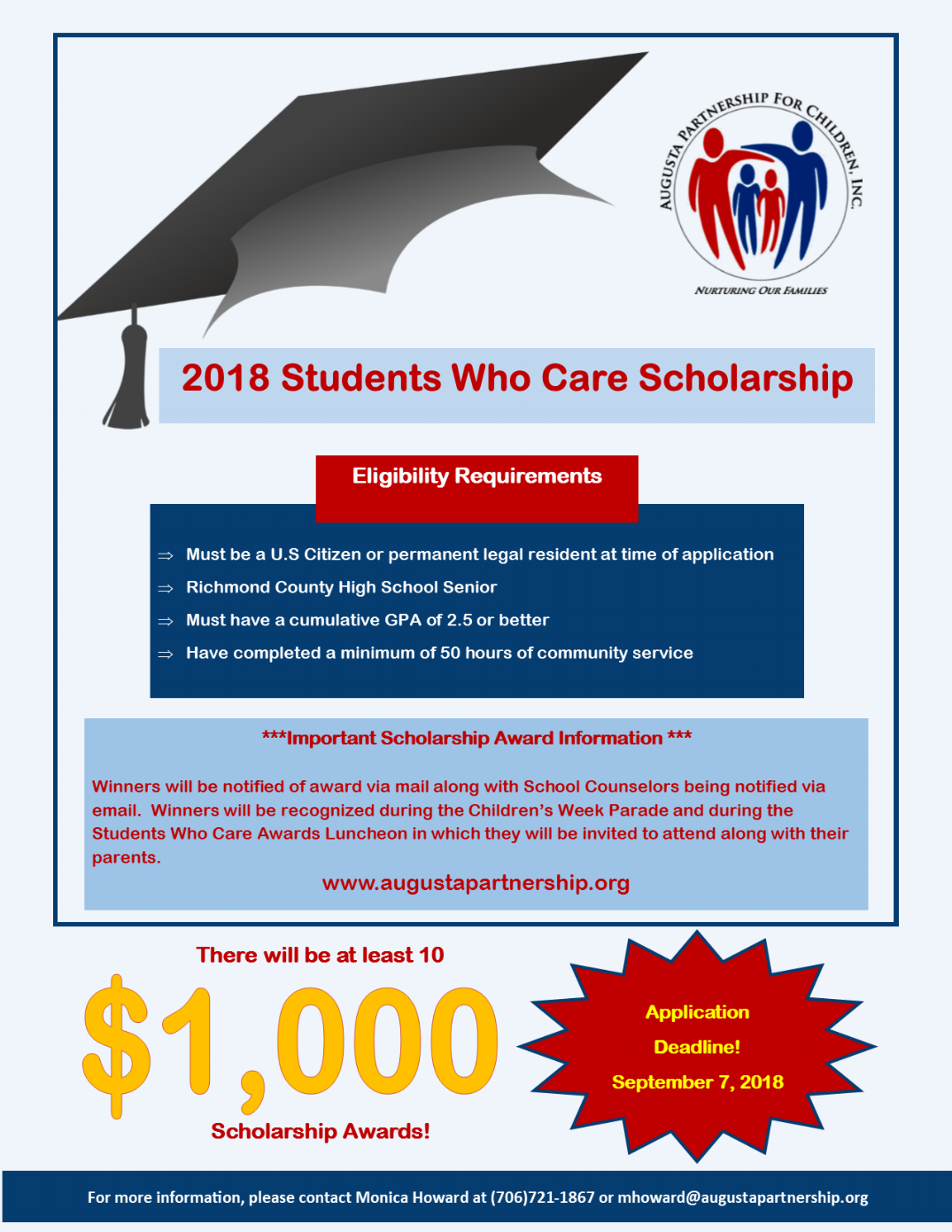 2018 Students Who Care Scholarship Flyer.png
