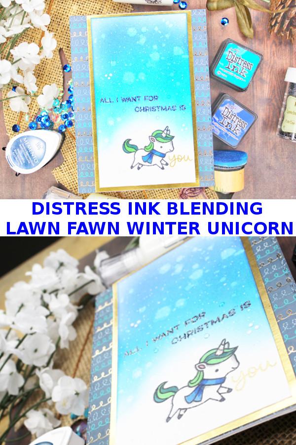 Winter Unicorn on Pinterest