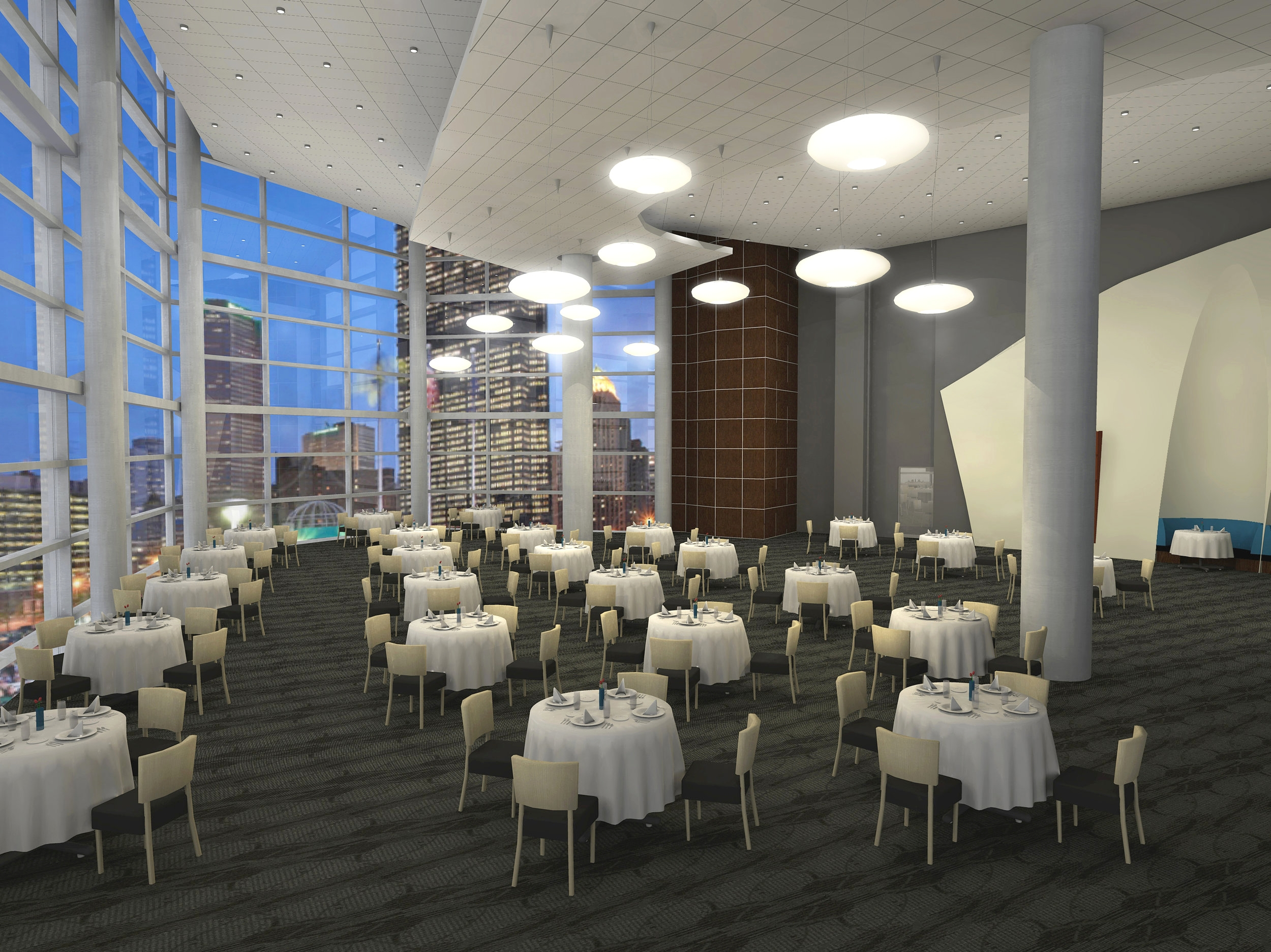 CONSOL ENERGY ARENA DINING