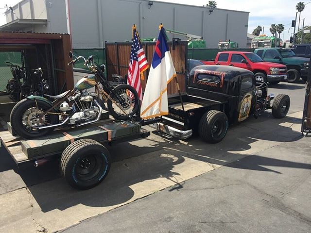 Gotta love Hot Rods and Motorcycles