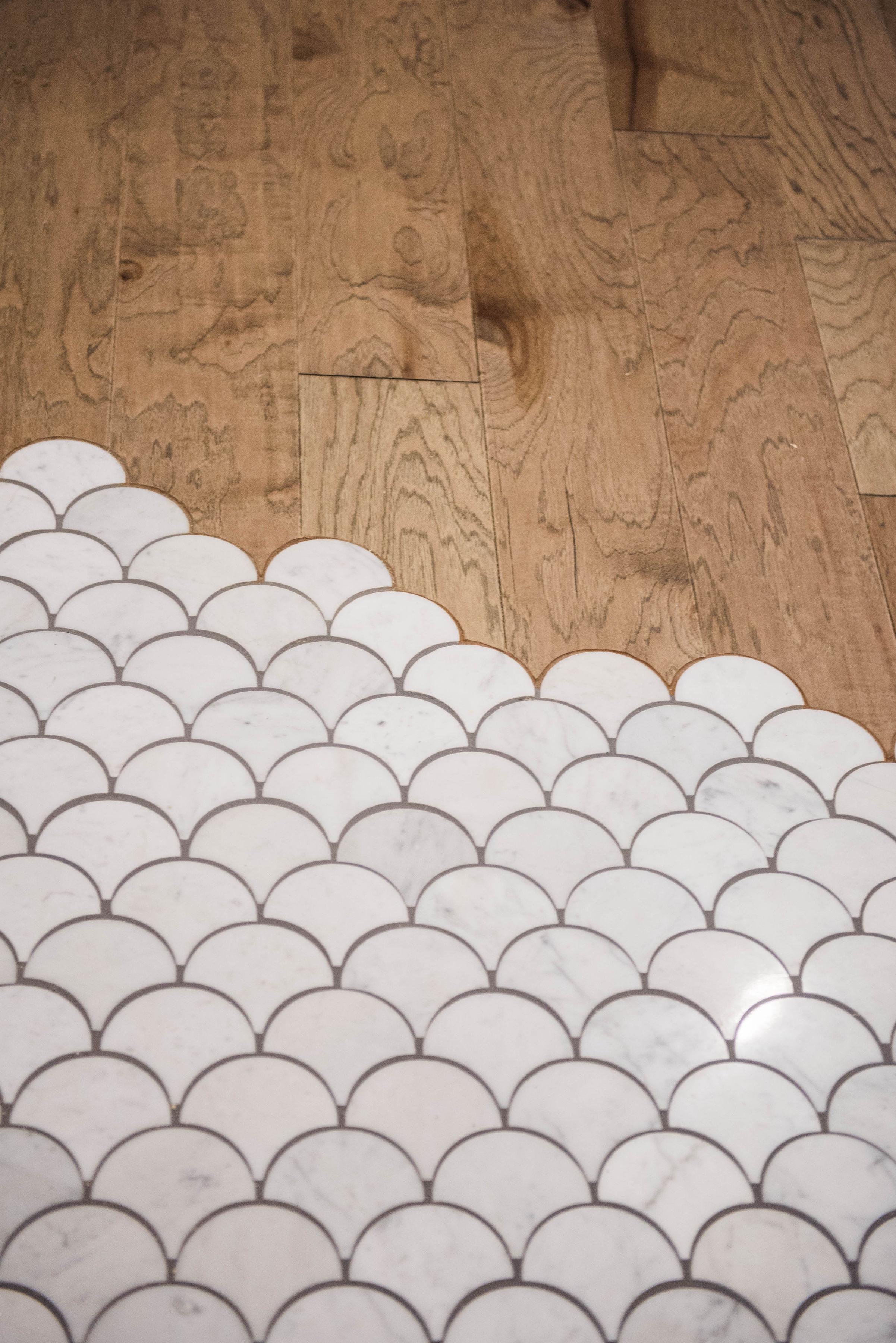 unique tile transition