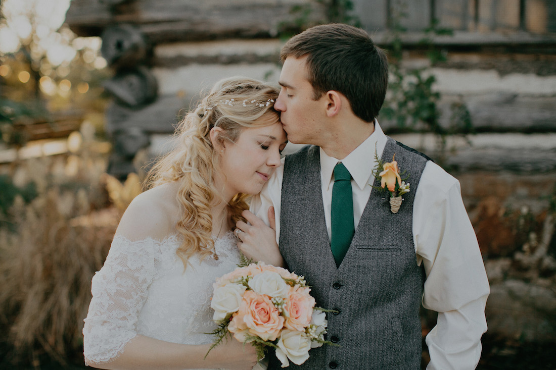 One of my favorites of our wedding photos taken by  Josh McCullock Photography