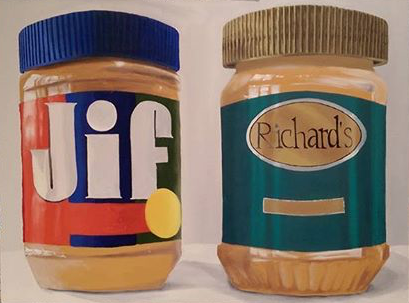 Peanut Butter | Oil on canvas | 2016