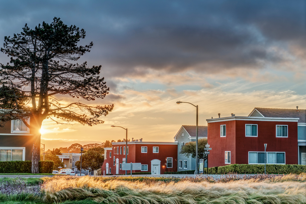 Two-Story Townhomes At Parkmerced In SF