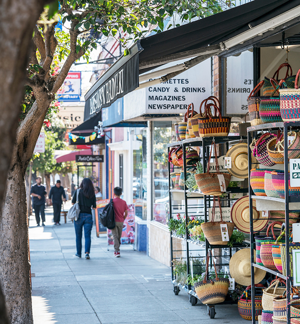 WEST PORTAL   Host to restaurants, taverns and an array of shops, this nearby neighborhood is perfect for a sidewalk stroll.