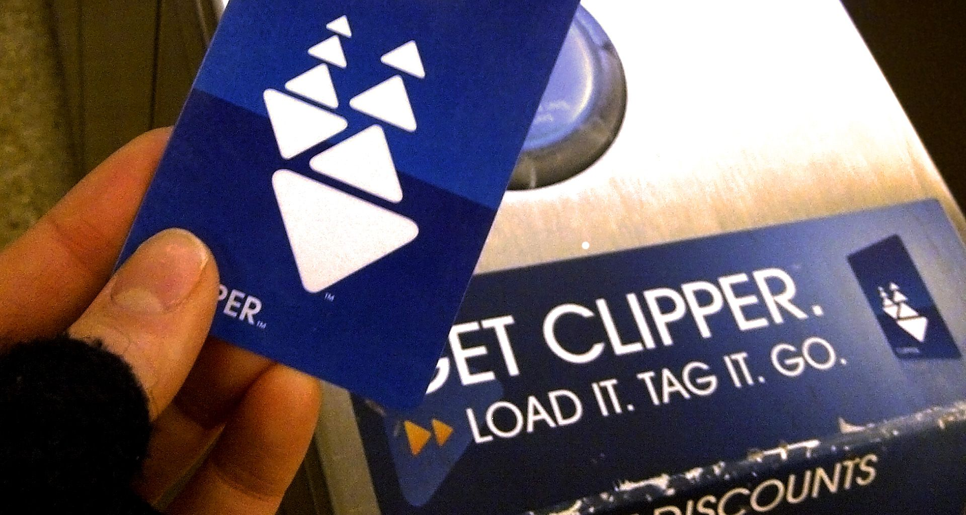 Clipper is the all-in-one transit card for the Bay Area, providing access to all major Bay Area transit systems.   Clipper ➝