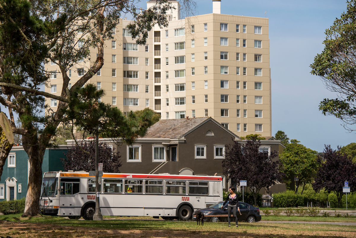 Muni  operates bus and light rail transit in and around Parkmerced, with convenient access to downtown San Francisco.   Muni ➝