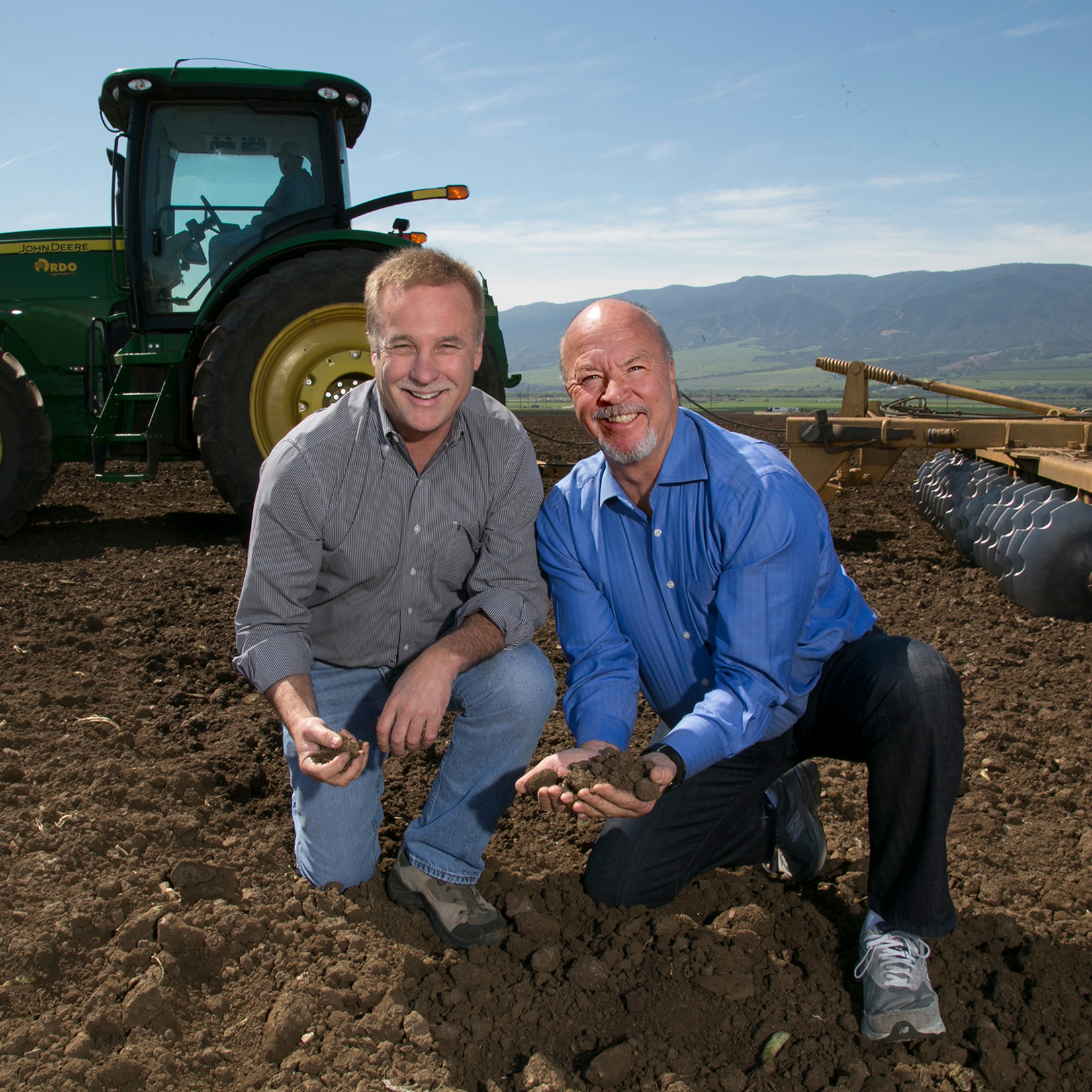 Founders Dave Johnson (left) and Tom Russell (right)