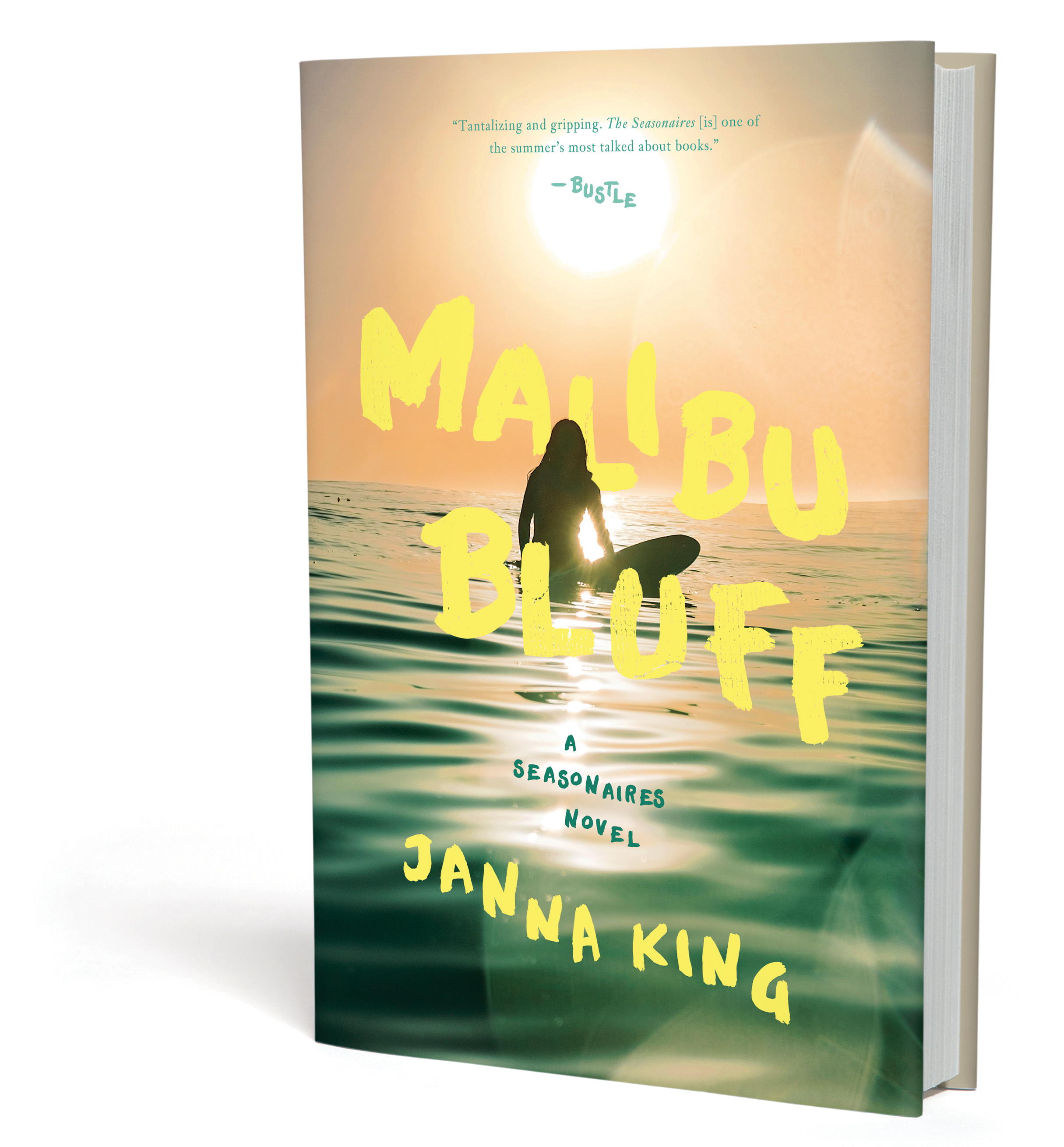 MALIBU BLUFF - A SEASONAIRES NOVELNOW AVAILABLEFROM PEGASUS BOOKS
