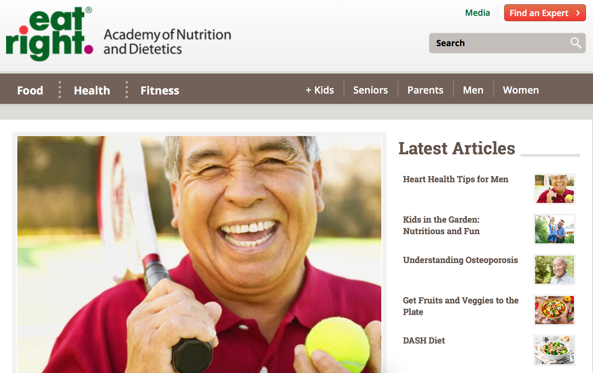EatRight.org - Academy of Nutrition & Dietetics (AND)