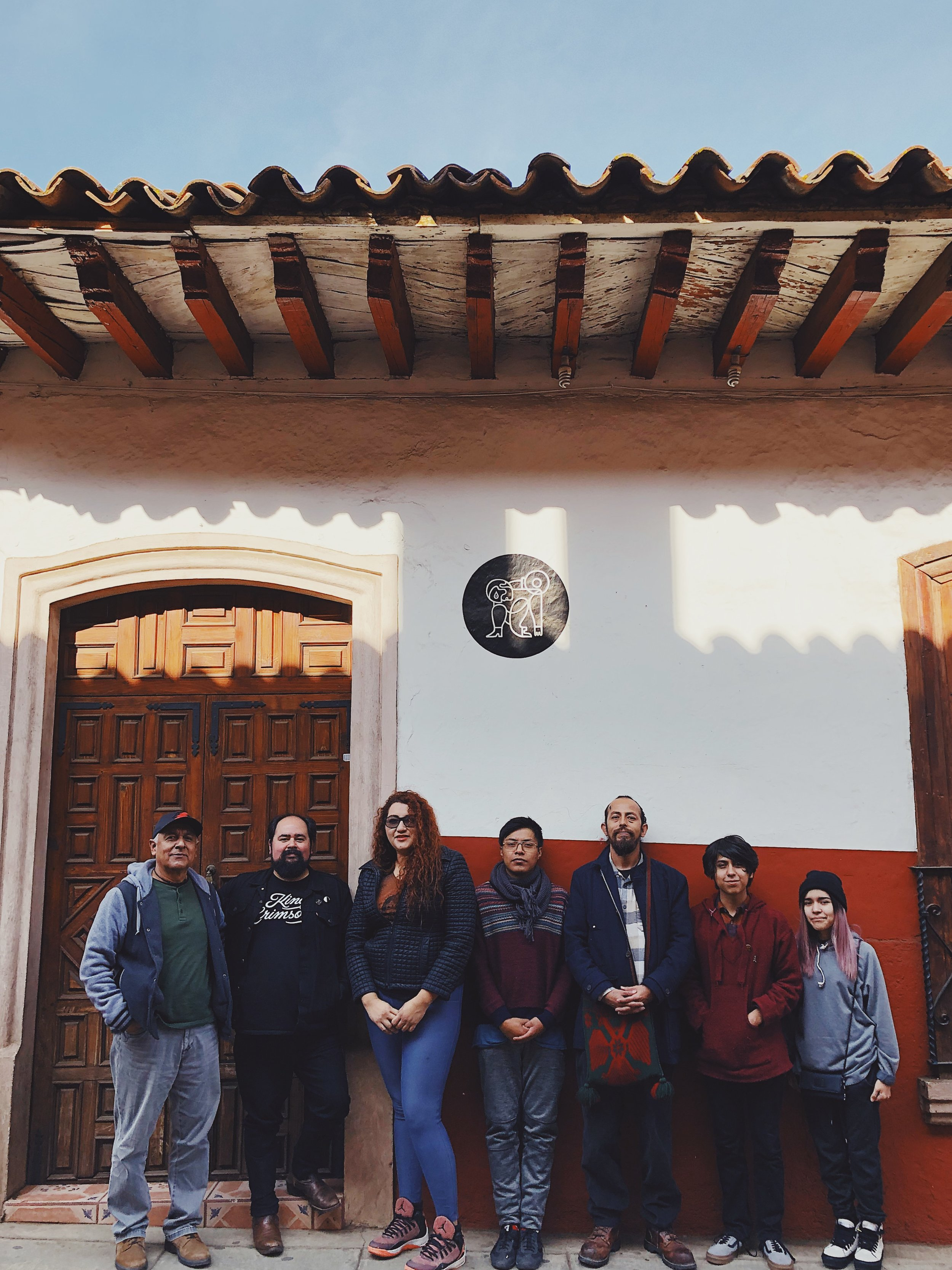 Artist Residency with our friends from studio Gabazo, in Tepic, Nayarit. Residencia con nuestros amigos del taller Gabazo en Tepic Nayarit.