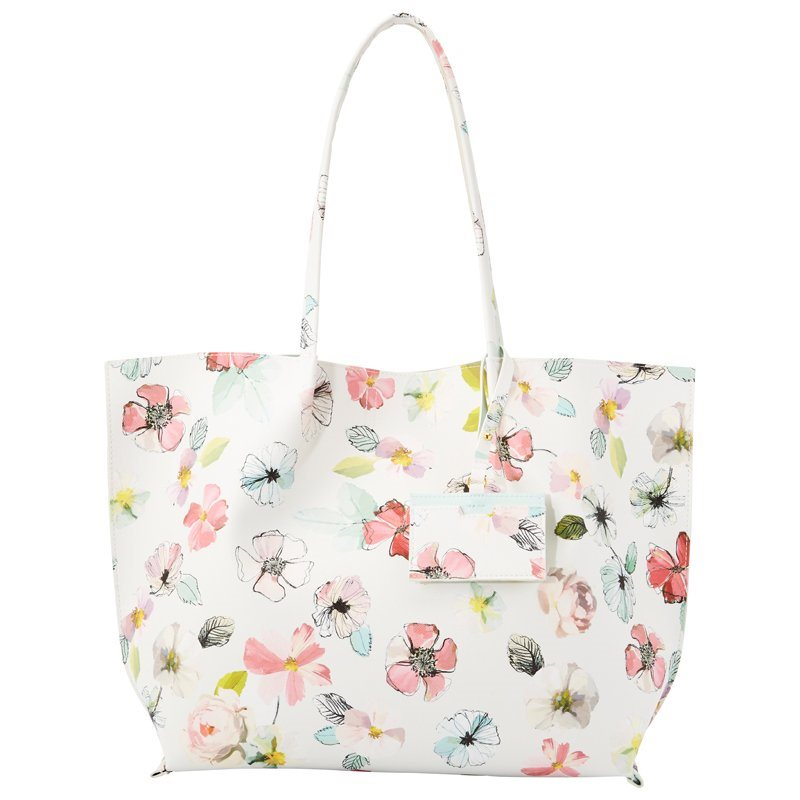 - MOTHER'S DAY TOTE – IVORY FLORAL$39.50 CAD